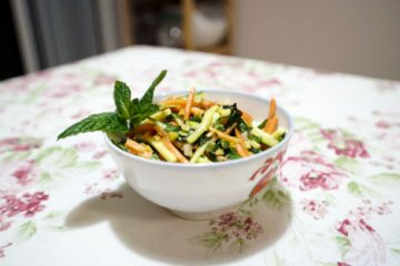 Asian-style Carrots and Zucchini